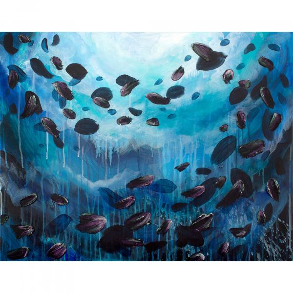 School of Fish 24x30""