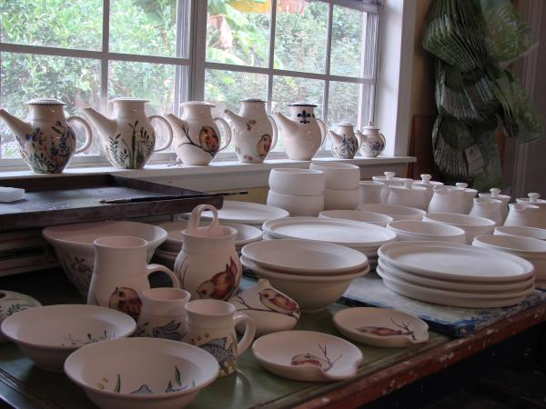 Rocky Broome Porcelain Pottery