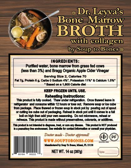 Bone Marrow Broth with Collagen