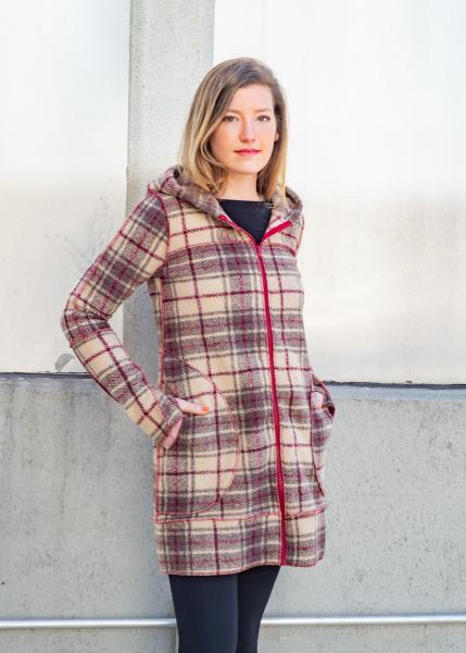Hadley Cream Plaid