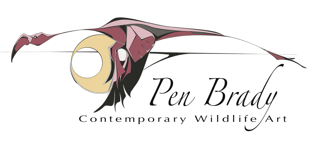 Pen Brady Contemporary Wildlife Art