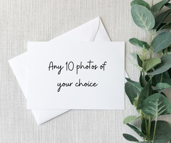 Set of 10 Greeting Cards