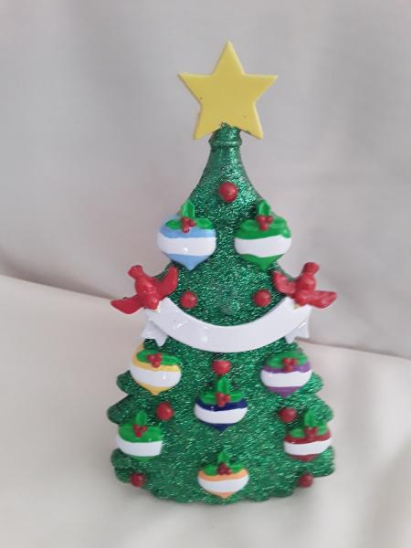 Green Glitter Tree Tabletop  (click to see variants) picture