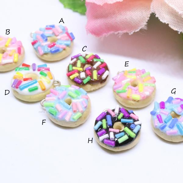 Assorted Donut Charms