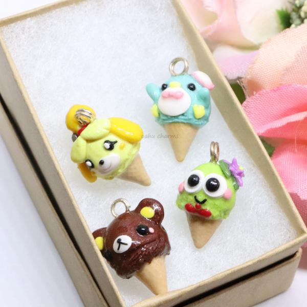 Miscellaneous Ice Cream Charms