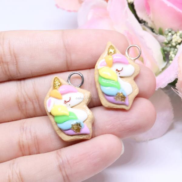 Unicorn Cookie Charm picture