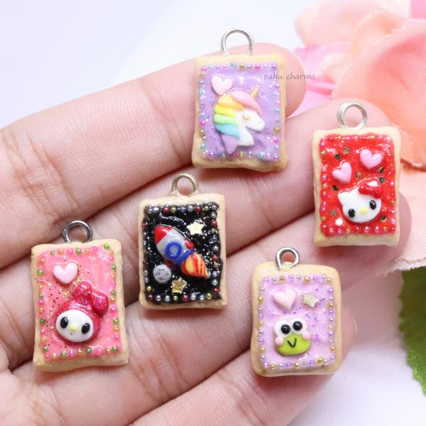 Assorted Poptart Charms