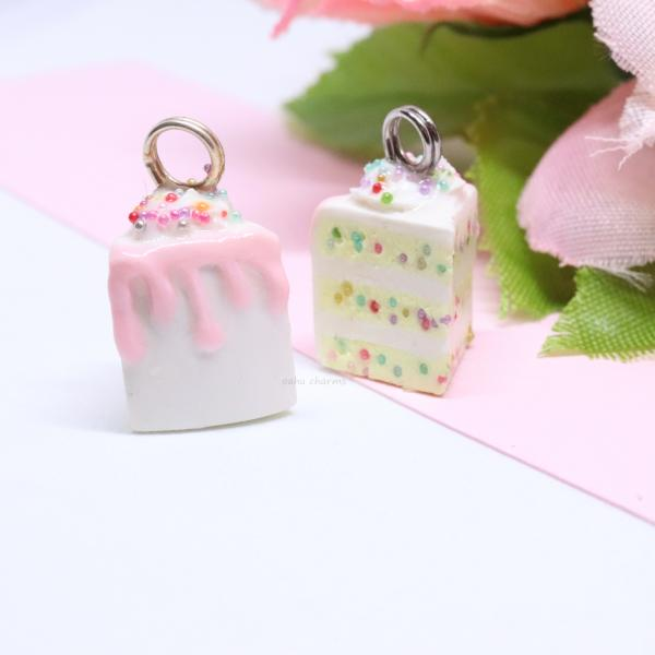 Birthday Sprinkle Cake Charm picture