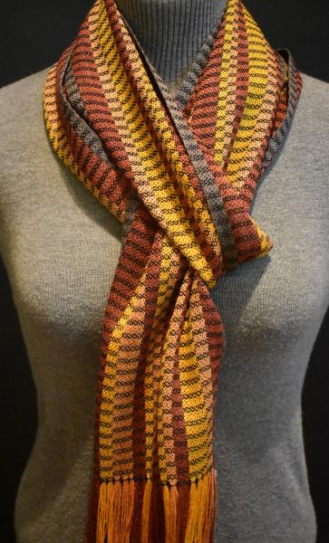 Silk and Bamboo Scarf