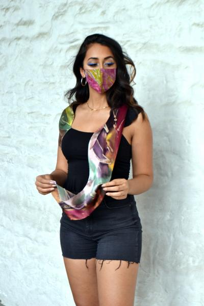 Fall scarf -mask