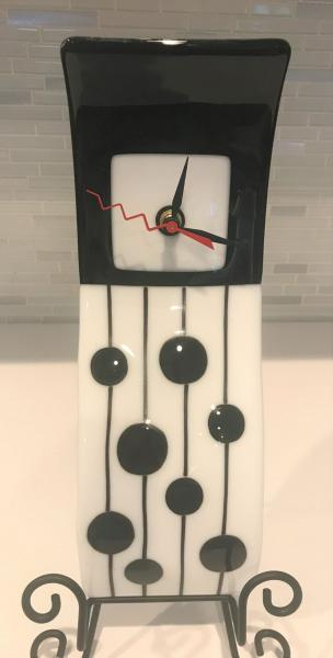 Wavy Wall Clock picture