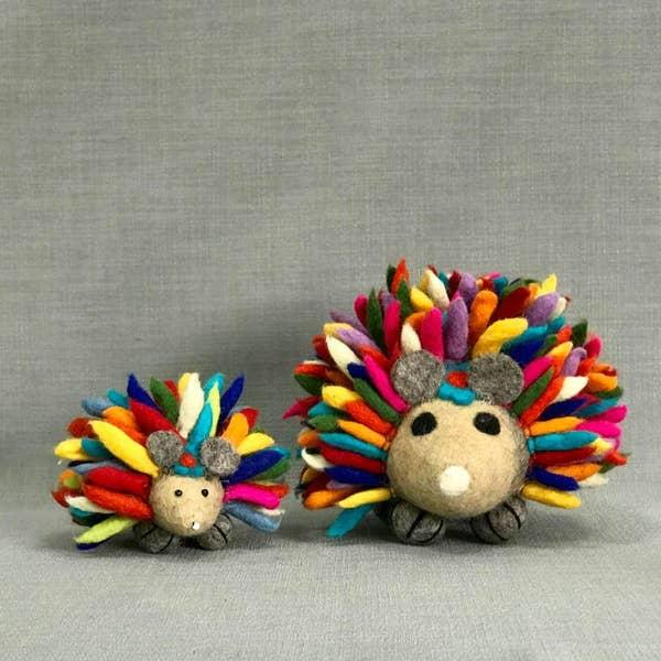 Large Rainbow Hedgehog picture