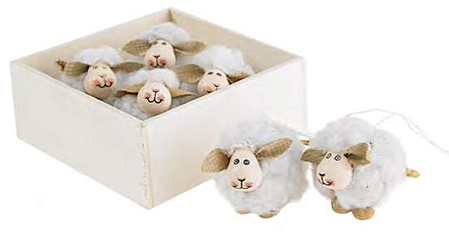 box of little white sheep