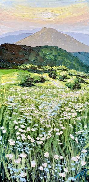 Field of Lace - original oil painting