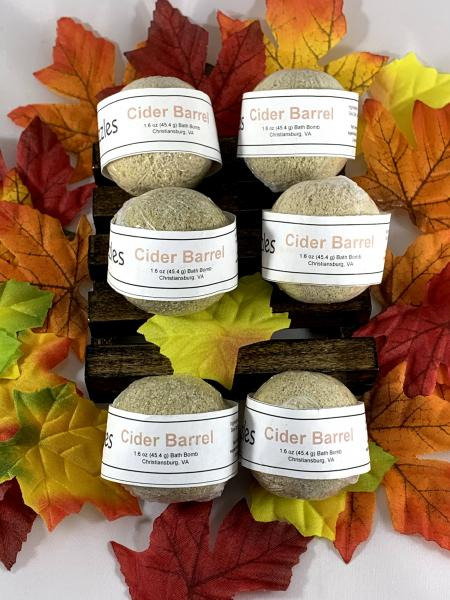 Fall/Autumn Bath Bombs | Homemade Bath Bombs | Gifts Under 10 | Stocking Stuffers | Fall Scents