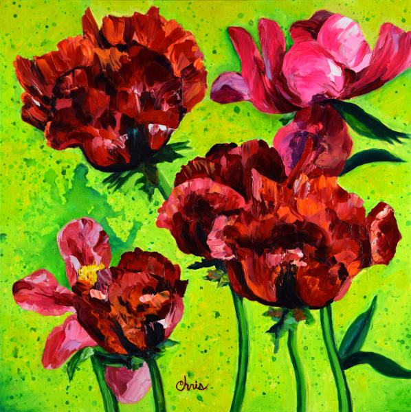 """Beauty of Livermere"" Red Poppies"