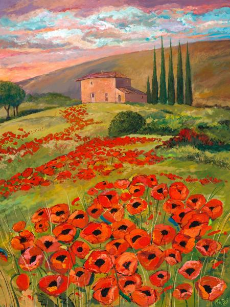 Tuscany Poppies picture