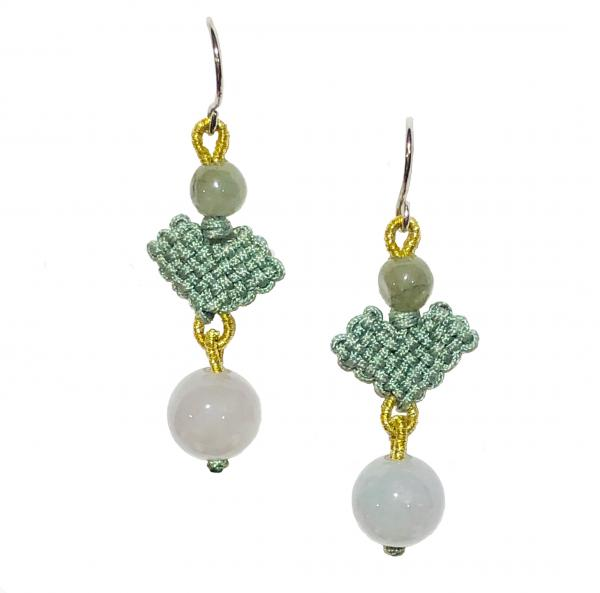 Celadon Jade Earrings