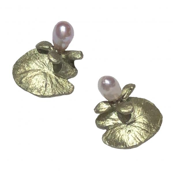 Michael Michaud Water Lilly Earrings