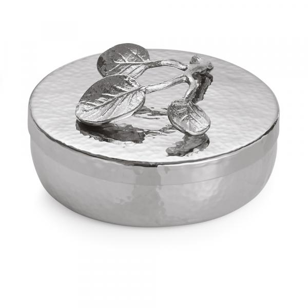Michael Aram Botanical Leaf Round Box