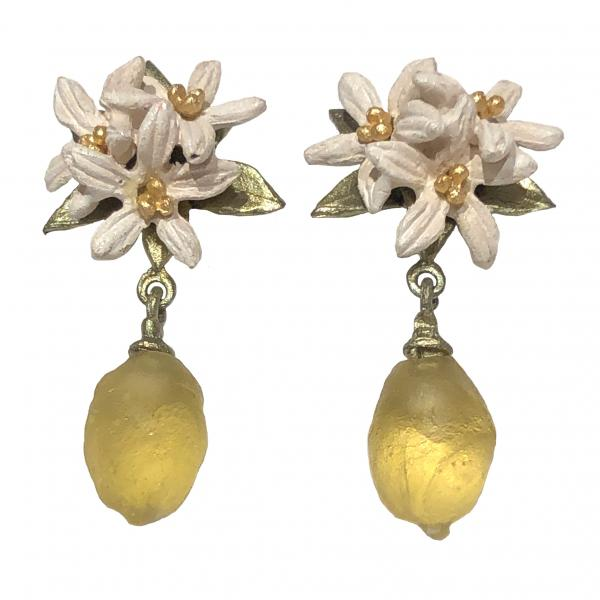 Michael Michaud Lemon Drop Post Earrings