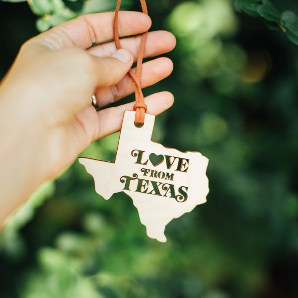 Love From Texas Ornament
