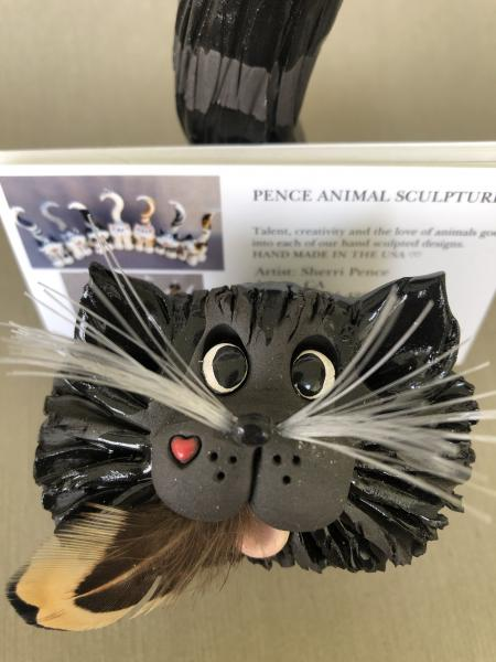 Cat business card holder picture