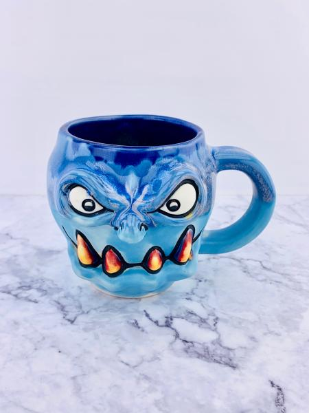 YoHoHo Ocean Blue Growler, Monster Mug