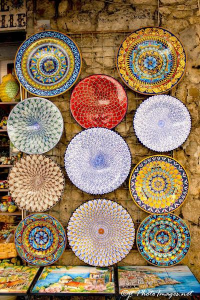 Platter Display Villa Rufalo Amalfi Coast picture