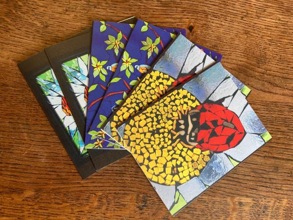 Mosaic Print Notecards