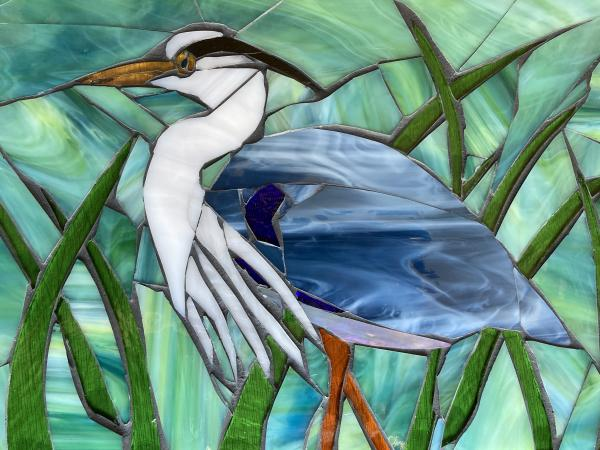 Great Blue Heron Mosaic