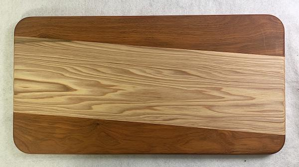 Hickory and Chakte Viga Cutting Board