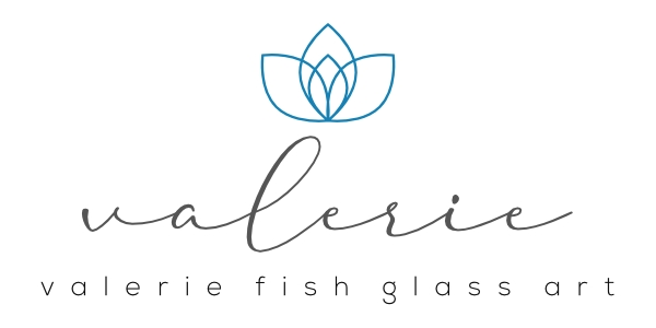 Valerie Fish Glass