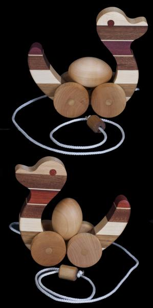 Wooden Toy Duck