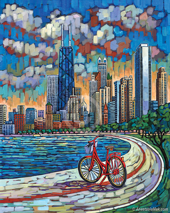 Biking Chicago