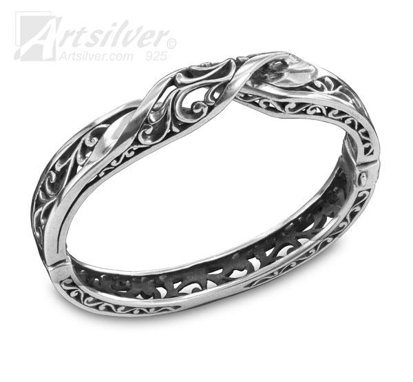 Mobius Filigree Bangle Style KS192