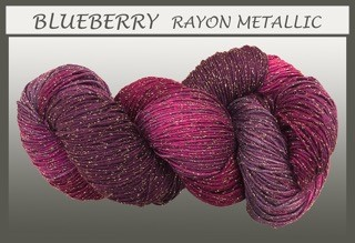 Blueberry Rayon Metallic