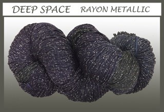 Deep Space/silver Rayon Metallic