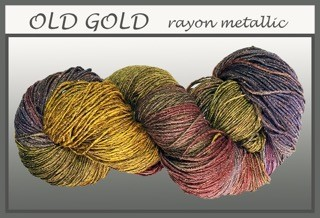 Old Gold Rayon Metallic