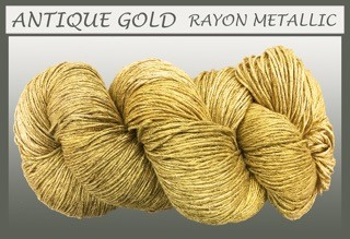 Antique Gold Rayon Metallic