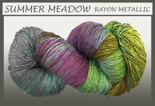 Summer Meadow Rayon Metallic