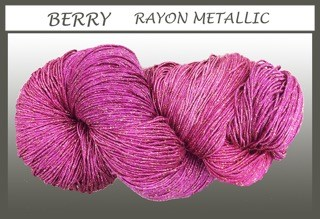 Berry Rayon Metallic