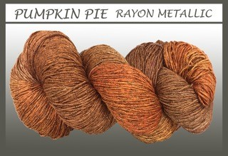 Pumpkin Pie Rayon Metallic