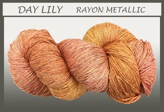 Day Lily Rayon Metallic