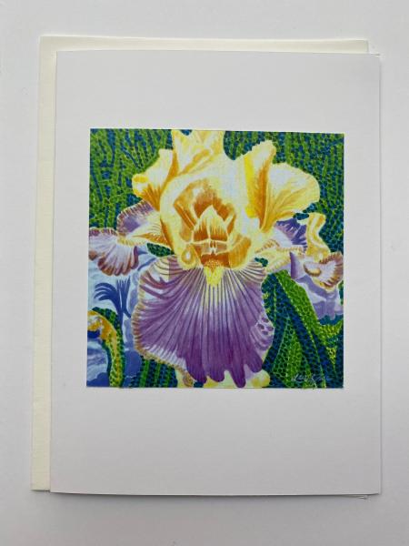 "Blank Notecards ""Iris"""