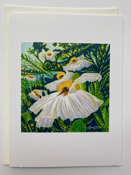 "Blank Notecards ""Matilija Poppy"""