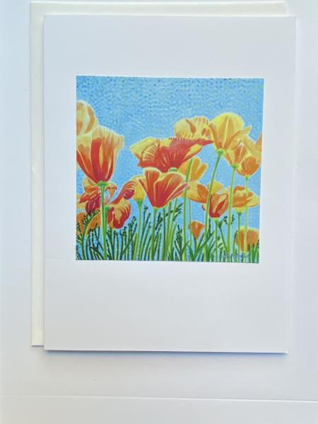 "Blank Notecards ""Poppy 1"""