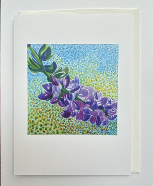"Blank Notecards ""Lupine"""