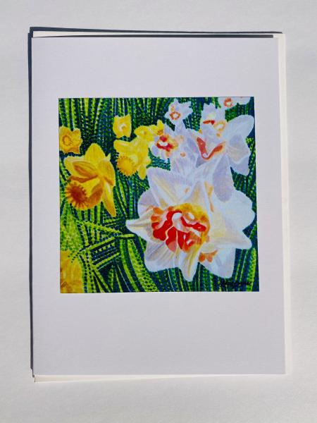 "Blank Notecards ""Daffodil"""