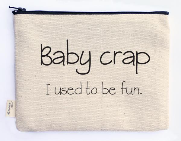 baby crap zipper pouch
